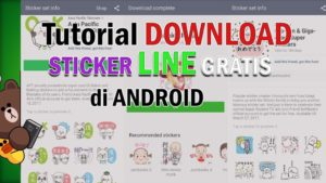 Download Stiker Line Gratis Tanpa Root